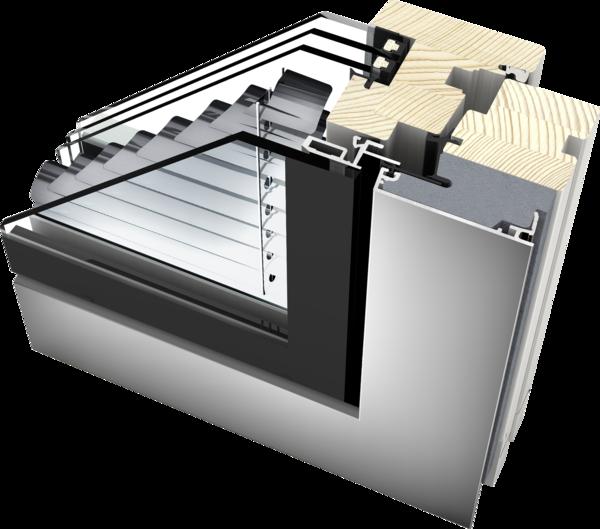 Extrem Verbundfenster | Fenster mit integrierter Jalousie von Internorm LI07