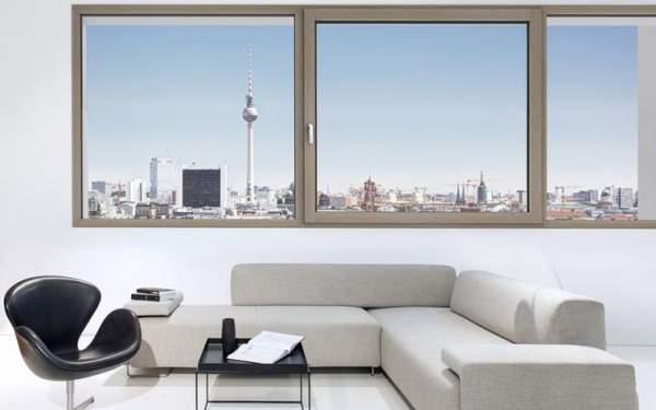 Okna drewniano-aluminiowe HF 410