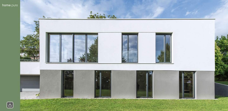 Schlichtes fenster und t r design home pure internorm for Pure home designs