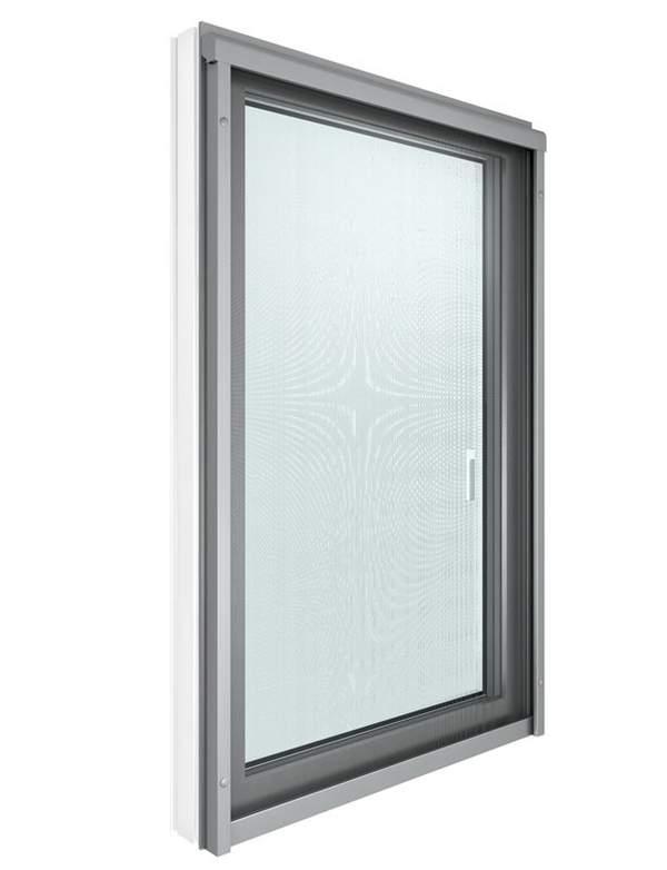 Insektenschutzrollo, Rollo gegen Insekten, Insektenschutz beim Fenster