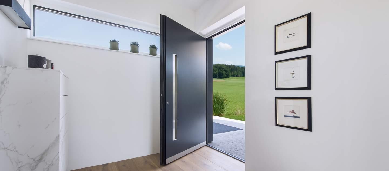 Hliníkové dveře vchodové