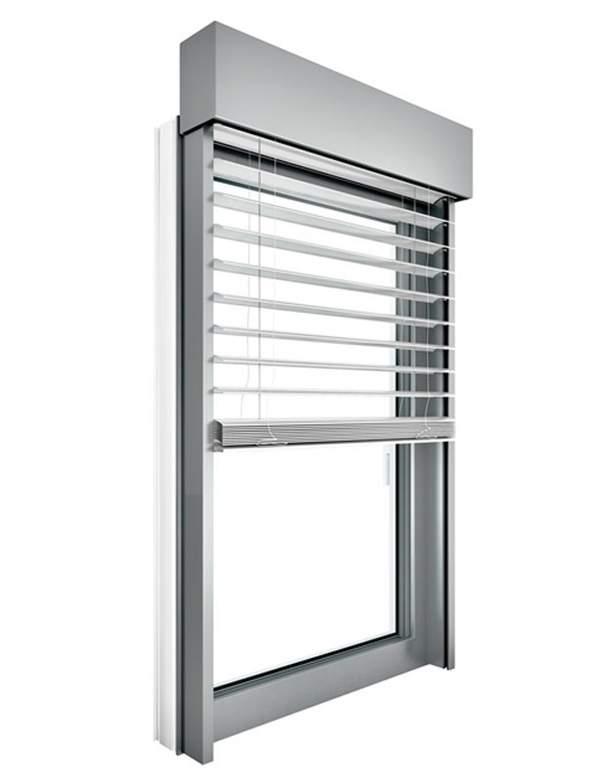Raffstore, Sonnenschutz, Sichtschutz