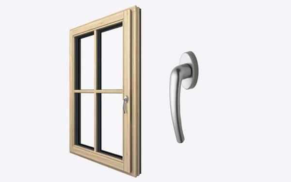 runde Kanten, runder Fensterrahmen, runder Fensterflügel, Fenster innen, Innenansicht Fenster, profiliert, rund, Griff, Fenstergriff, Kunststoff, Kunststoff-Fenster