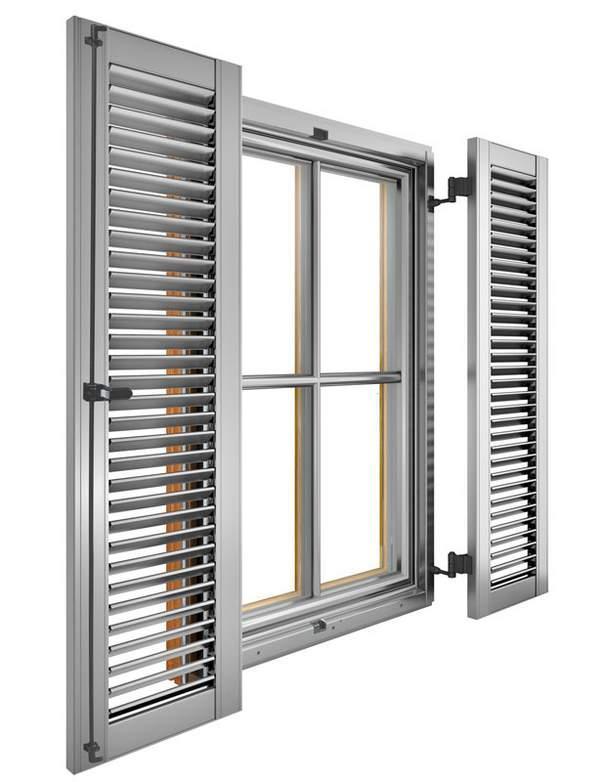 Fensterladen, Sonnenschutz, Sichtschutz