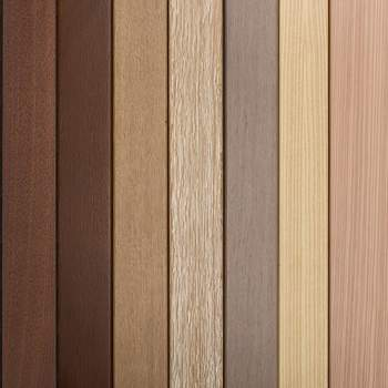 Colour/timber range