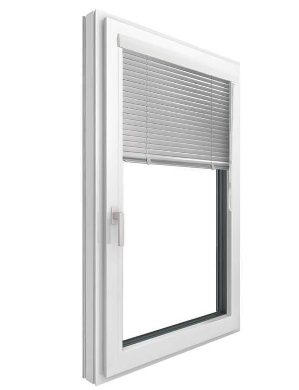 Innenjalousie, Jalousie beim Fenster innen, Sonnenschutz, Sichtschutz