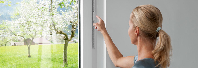 Bevorzugt Dezentrale Lüftung | Kontrollierte Wohnraumlüftung | Fenster mit PA51