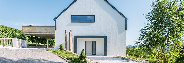 Haustüren & Nebeneingangstüren | Aluminium- & Holz-Aluminium Haustüren