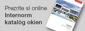 Internorm nový katalog okien 2016/17