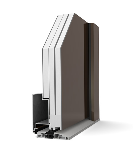 internorm at 310 tz haust ren aus aluminium und holz. Black Bedroom Furniture Sets. Home Design Ideas